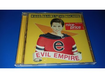 RAGE AGAINST THE MACHINE - evil empire -  (cd)