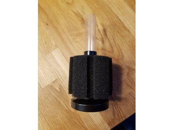 Svamp filter – Small + Slang & Backventil!