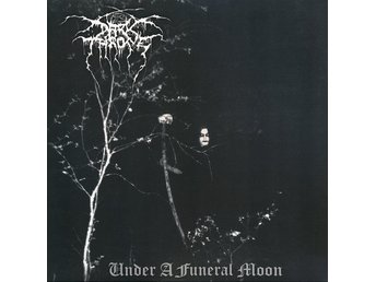 "DARKTHRONE-LTD 1000ex Ny LP-Under A Funeral Moon-Printed Inner+12"" Size Insert"