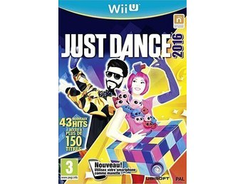 JUST DANCE 2016 Nintendo Wii U.