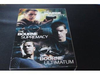 DVD-box: The Bourne collection - 3 filmer