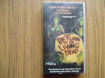 The return of the living dead, kultfilm.