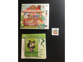 Animal Crossing - Happy Home Designer- Nintendo 3DS