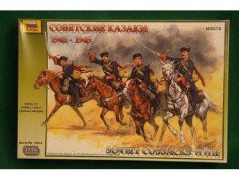 Zvesda 1/35 Soviet Cossacks WWII - Lund - Zvesda 1/35 Soviet Cossacks WWII - Lund