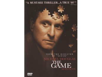 The Game - 1998 - OOP - Region 1 NTSC DVD - Michael Douglas