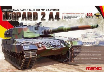 Meng Model 1/35 German Main Battle Tank Leopard 2 A4