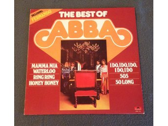 ABBA - The Best Of ABBA (Polydor, Holland)