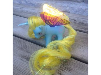 My Little Pony G1 - Whirly - Windy wing pony med nya vingar Rehair! - Rimbo - My Little Pony G1 - Whirly - Windy wing pony med nya vingar Rehair! - Rimbo