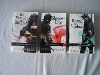 The Night Angel Trilogy Brent Weeks 1-3 Fantasy