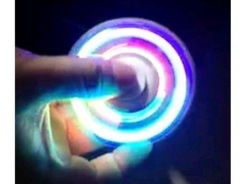 LED-fidget Spinner Fidget Plastic - Arlöv - LED-fidget Spinner Fidget Plastic - Arlöv