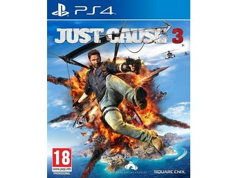 PLAYSTATION 4 JUST CAUSE 3!! NY & INPLASTAD!