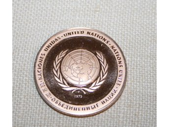 UNITED NATIONS 1973. MYNT.