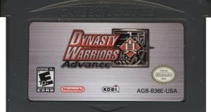 GBA - Dynasty Warriors Advance (Beg)