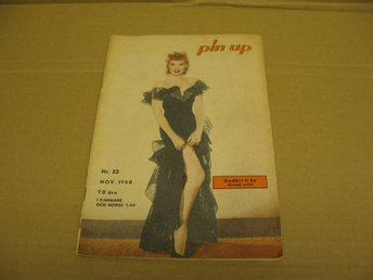 ** Pin Up Nr 22 1950 ** 1950's/60's GLAMOUR **