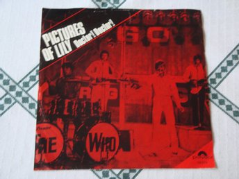 "THE WHO - PICTURES OF LILY 7"" 1967"