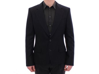 Dolce & Gabbana - Black slim fit wool blazer