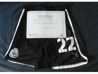 Newcastle United FC - Game Worn Shorts, Matchanvända shorts - EUROPA LEAGUE