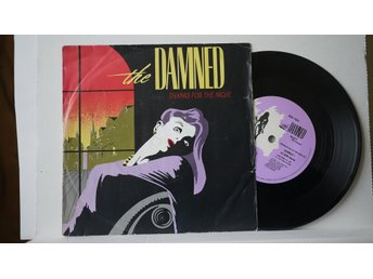 Damned - Thanks For The Night       7""