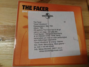 The Facer - Good Vibrations EP, CD