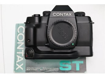 Contax ST med Contax Battery Holder P-7