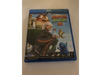 Monsters vs Aliens 3D - Bluray