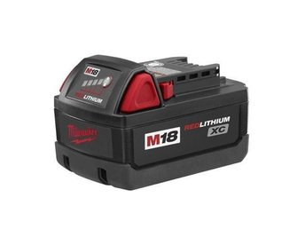 Nytt Milwaukee 48-11-1828 (M18 BX), 18V 3Ah Red Lithium XC Batteri!