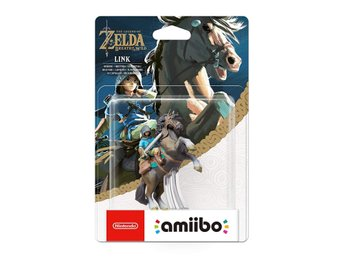 Amiibo Figurine - Link on horseback (Rider) (Zelda: Breath of the Wild Collectio