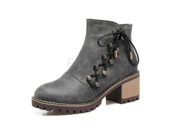 Dam Boots Casual Footwear Autumn Winter Shoes Woman Gray 40