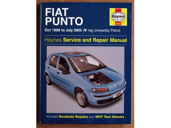 Haynes Service and Repair Manual - Fiat Punto (Oct 1999 to July 2003)