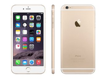 Apple iPhone 6 Plus 128GB, guld, gold, RIMLIGT SKICK