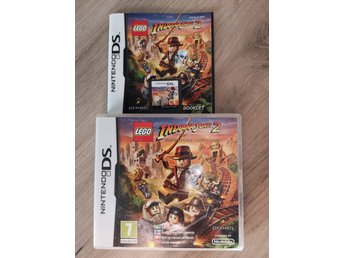 Lego Indiana jones 2 the adventure continues Nintendo DS
