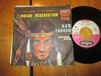 "Don Fardon ""Indian Reservation / Dreaming Room"""
