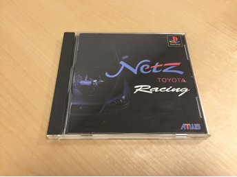 Netz Toyota Racing till PS1 OBS! NTSC-J