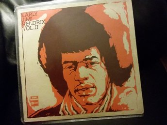 Early Jimi Hendrix Vol.II Vinyl Orginal 1970. Musik, Rock, Gitarr, Nostalgi