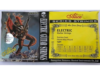OUTLET -   2x Alice strings till EL - gitarr A506 (L) light