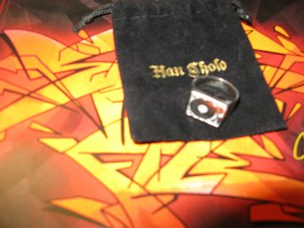 Han Cholo Turntable Ring. Fint skick. Hiphop , Supreme,