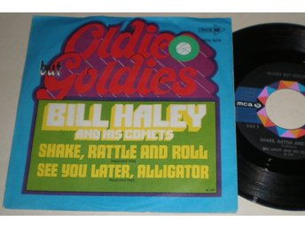Bill Haley 45/PS Shake rattle and roll 1972 VG++