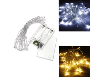 AA Battery Mini 20 LEDs Cool/Warm White Christmas String ...