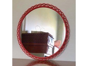 Helt nya Retro spegel plast 60-tal 70-tal (351806224) ᐈ Köp på Tradera SL-05