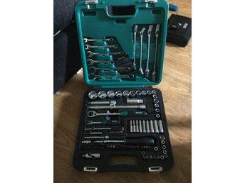 Omtalade Kamasa verktygssats 92 delar som nytt! (357893056) ᐈ Köp på Tradera YJ-64