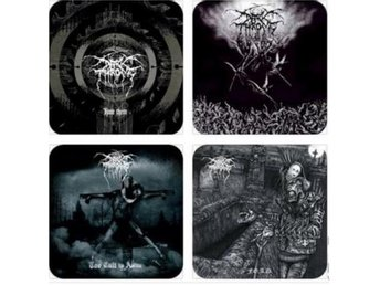 DARKTHRONE COASTERS - Set of 4