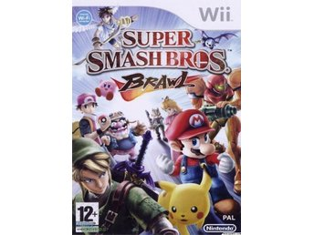 Svenskt Super Smash Bros Brawl Nintendo Wii