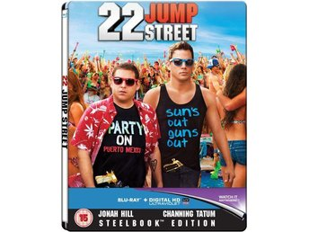 22 Jump Street - Exclusive Limited Edition Steelbook -Channing Tatum, Jonah Hill - Norrsundet - 22 Jump Street - Exclusive Limited Edition Steelbook -Channing Tatum, Jonah Hill - Norrsundet