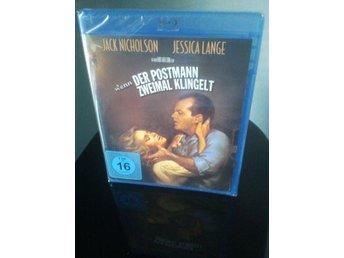 POSTMANNEN RINGER ALLTID TVÅ GÅNGER Jack Nicholson Blu-ray - Tumba - POSTMANNEN RINGER ALLTID TVÅ GÅNGER Jack Nicholson Blu-ray - Tumba