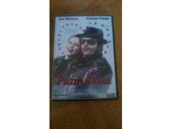 DVD Prizzi's Honor/Prizzis Heder (Jack Nicholson) - Norrköping - DVD Prizzi's Honor/Prizzis Heder (Jack Nicholson) - Norrköping