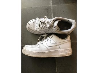 Nike air force 1 vita låga