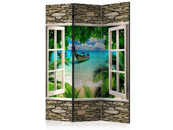 Rumsavdelare - Tropical Beach Room Dividers 135x172