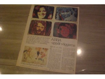 ABBA / Christan Rare Clippings Sweden 1977