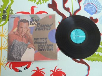 JIM REEVES, GOLDEN RECORDS, I LOVE YOU BECAUSE, I WON´T FORGET YOU, LP, LP-SKIVA