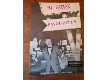 Häfte noter Jim Reeves favourites 1962